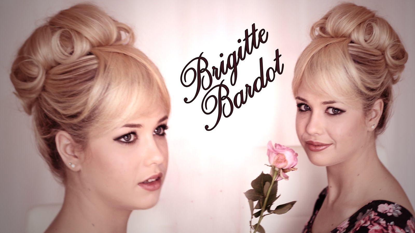 Brigitte Bardot hair and makeup tutorial with EnjoyPhoenix DOING