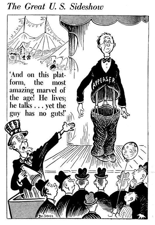 Dr Seuss Political Cartoons I  History    Political