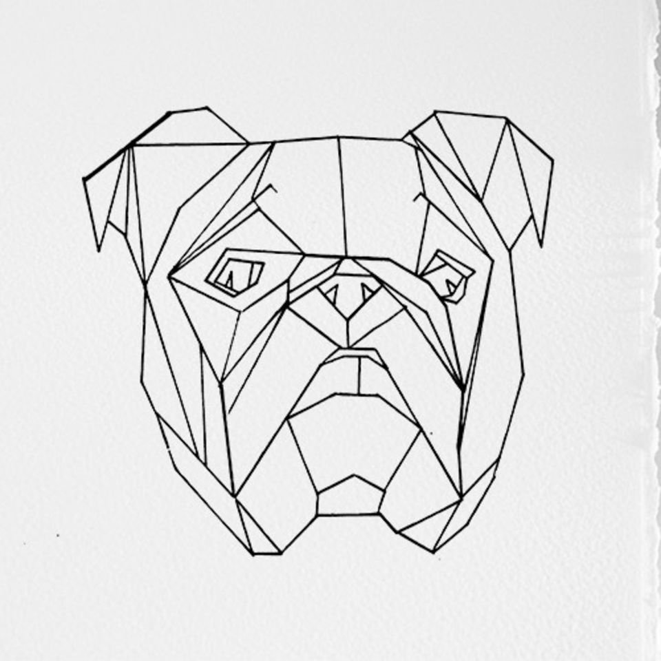 It S The Dogs At Ben Oakley Gallery Geometric Art Animal Geometric Drawing Geometric Art