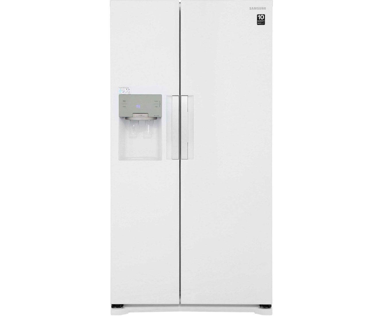 Samsung H-Series RS7667FHCWW American Fridge Freezer - Gloss White