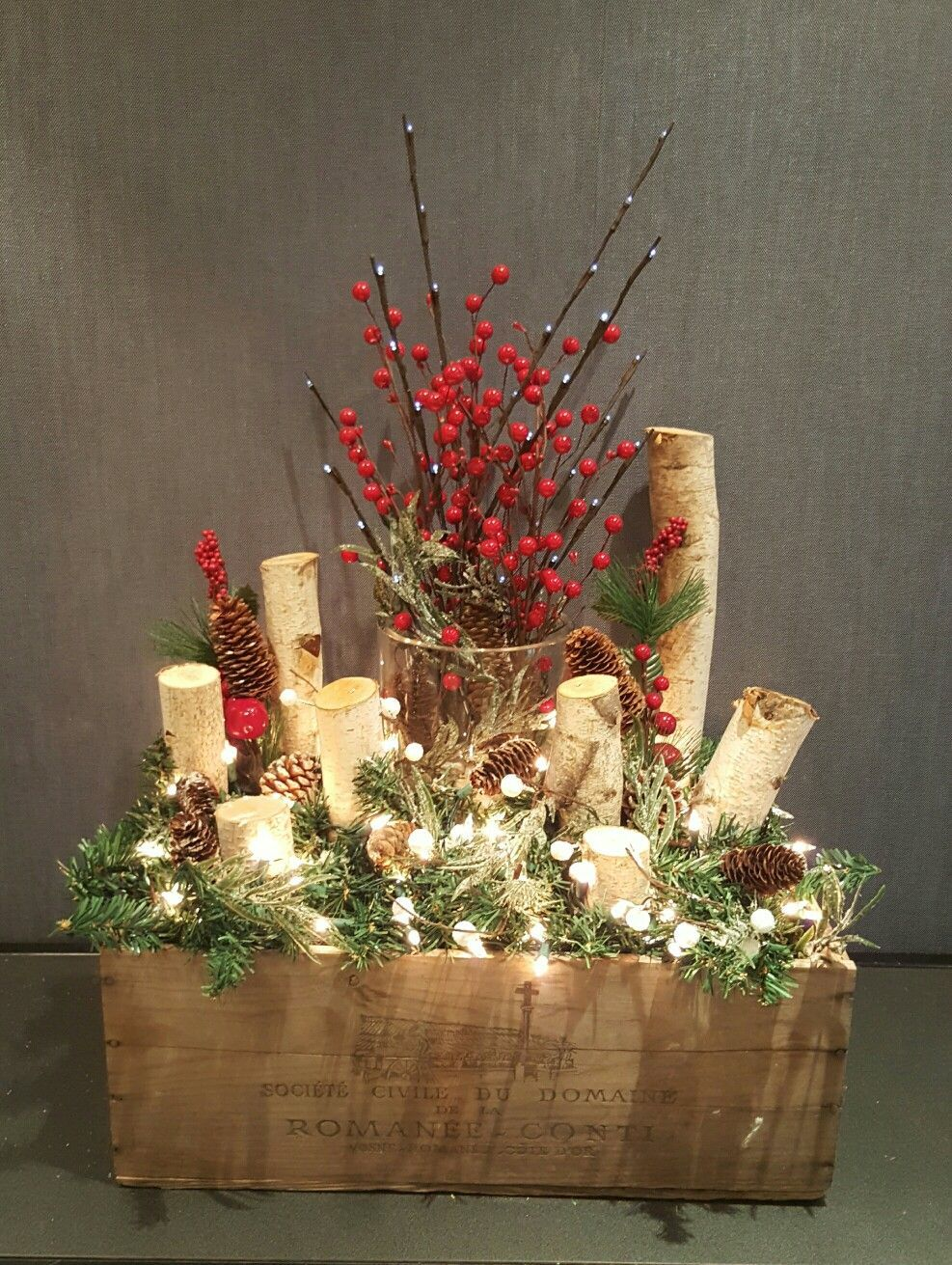 Replace Red Berries With Snow Berries In 2020 Christmas Centerpieces Diy Holiday Decor Christmas Christmas Table Decorations