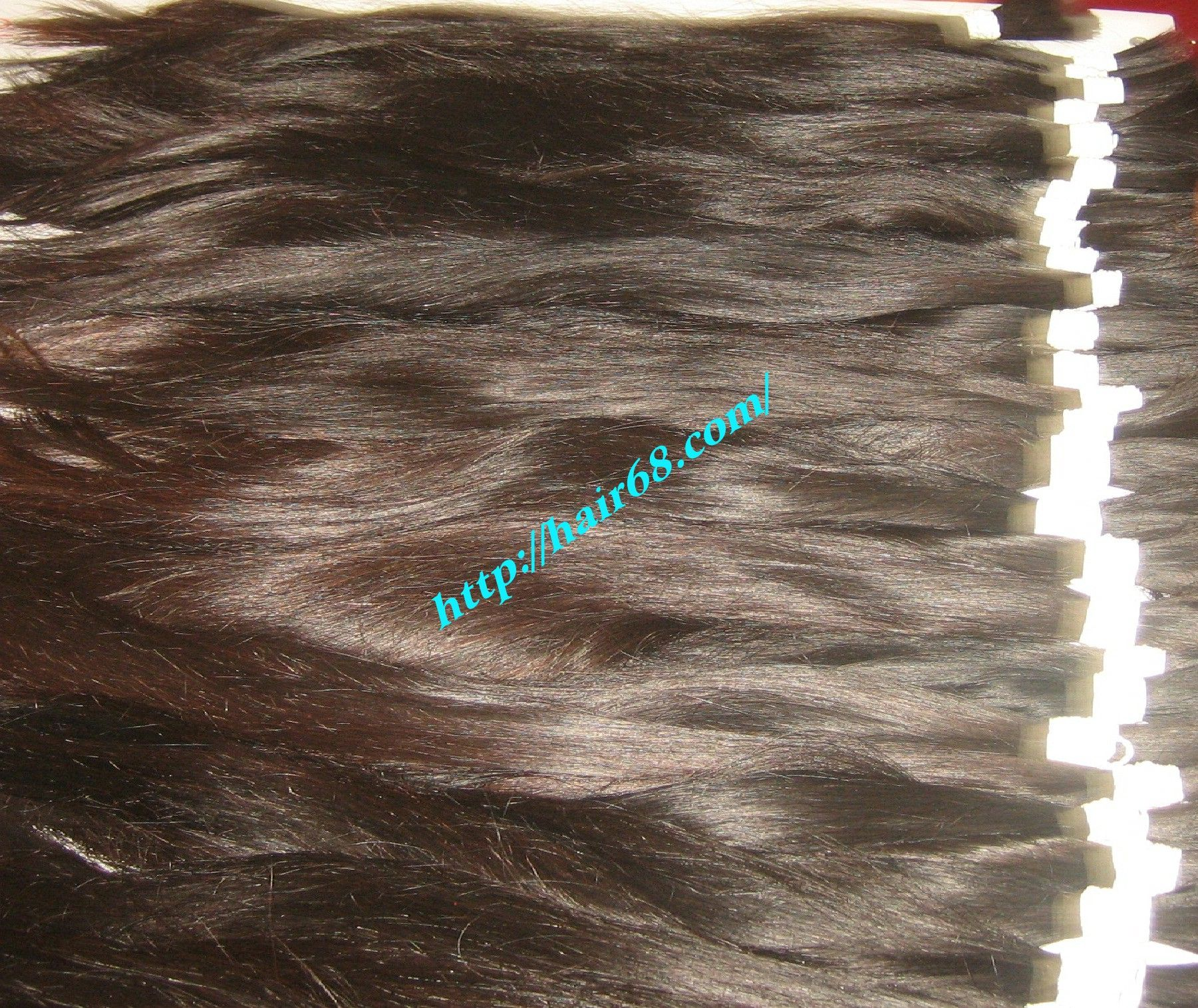 Thin Hair - Brown Hair - Human Remy hair- Vietnam Hair extensions
