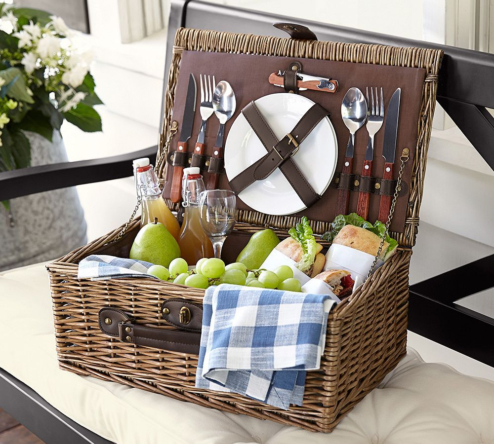 Wedding Night Basket Ideas: Outdoor Dinnerware, Picnic, Pottery
