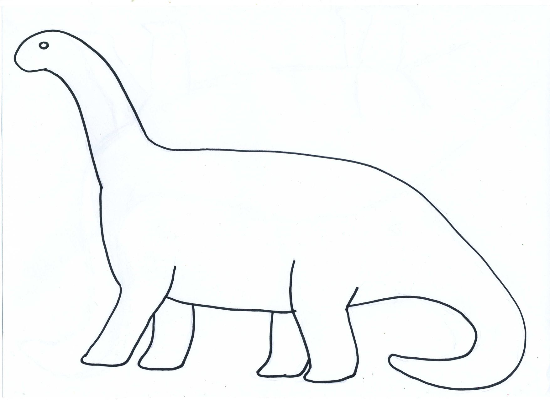 Cut out dinosaur shapes template dinozaury pinterest for Dinosaur templates to print
