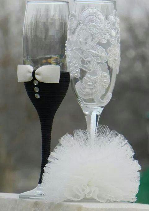 copas para bodas   decorar regalos   pinterest   copas boda, copas
