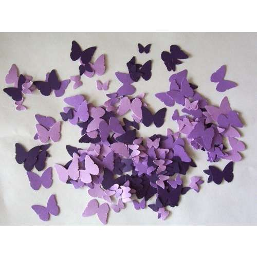 Purple Butterfly Baby Shower Decorations