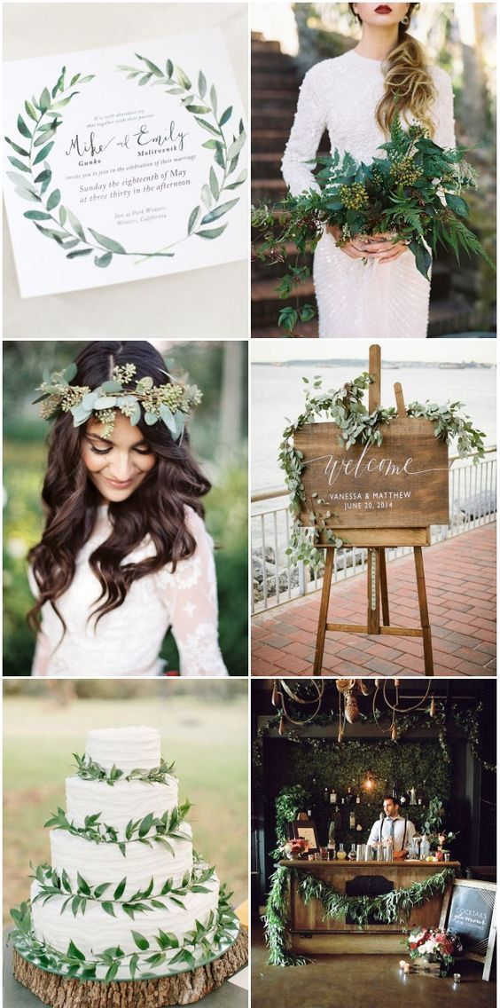 26 Winterhochzeitsfarben, die Sie begeistern   – Perfect Little Wedding