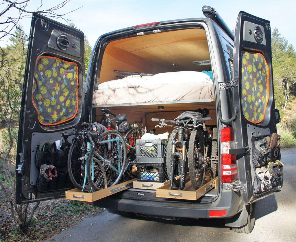 sprinter van conversion layout 14 outdoor wohnmobil. Black Bedroom Furniture Sets. Home Design Ideas