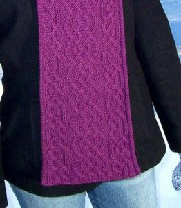 amy-scarf-pattern | Knitting patterns free scarf, Scarf ...