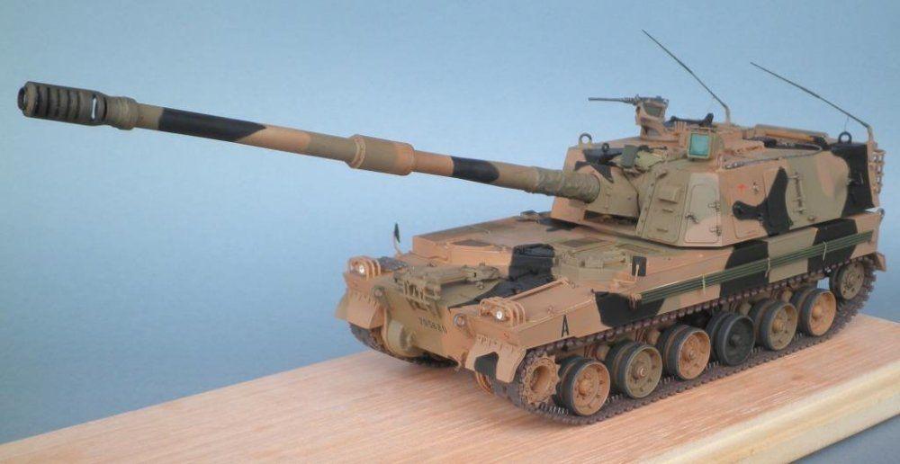 TRACK-LINK / Gallery / AS9 Thunder 155mm Self Propelled Gun