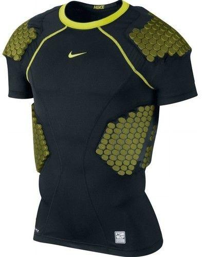 fd1d887a NWT Mens Nike Pro Combat Dri-Fit Padded Compression Shirt-S Football
