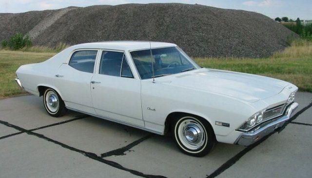 1968 Chevy Chevelle 4dr Sedan Chevelle Chevrolet Chevelle