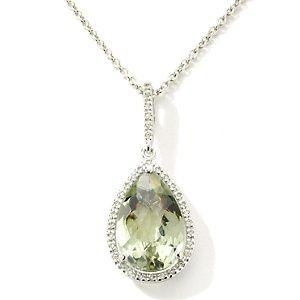 Rarities: Fine Jewelry with Carol Brodie Gemstone and White Topaz Pendant