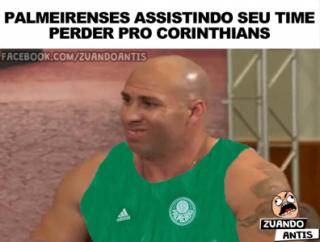 Os melhores memes da vitória do Corinthians diante do Palmeiras ... c23e720c2e4d2