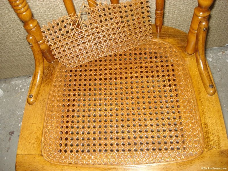 Color Matching Spline Cane Sheeting Cane Furniture Caning Woven Chair