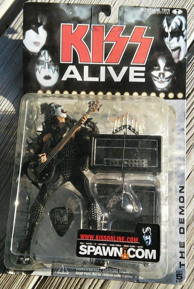 Kiss Alive Gene Simmons Action Figure Unopened Mcfarlane Toys