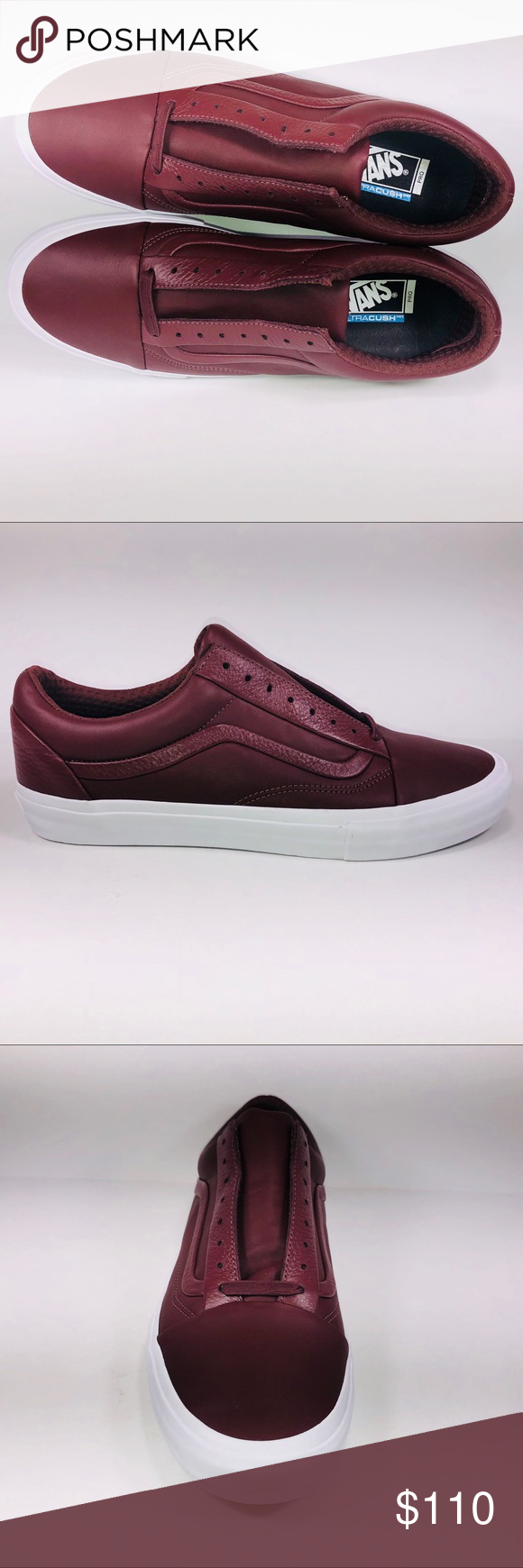 VANS Old Skool Stitch & Turn Leather Andorra Shoes New With