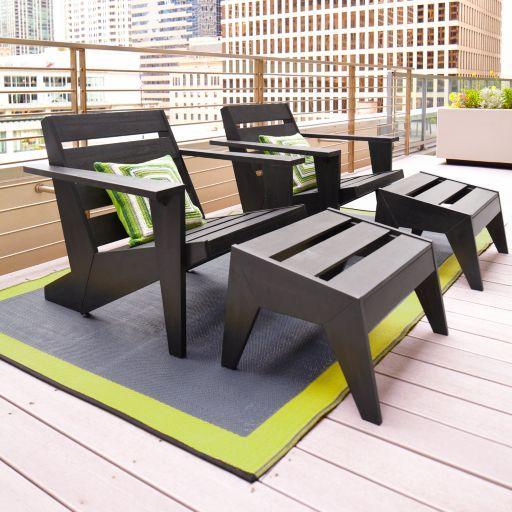 Terrazas urbanas: Cómo decorarlas de acuerdo al uso que se les dará ...