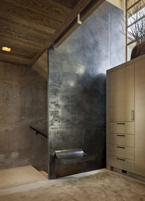 Decorating Ideas For Interior Concrete Walls Haus Innenarchitektur Moderne Hausentwurfe Moderne Raumausstattung