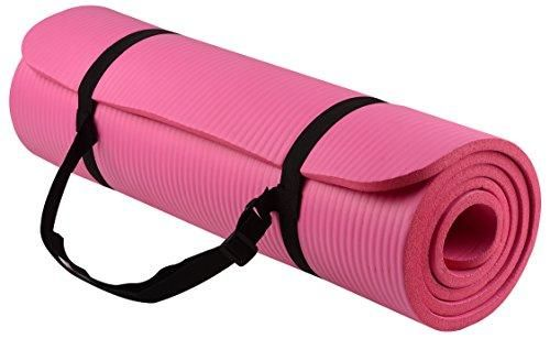 Balancefrom Goyoga All Purpose 1 2 Inch Extra Thick High Density Anti Tear Exercise Yoga Mat With Carrying Strap 71 Long 24 Wide Ens Yoga Fitness Fun Workouts Best Yoga