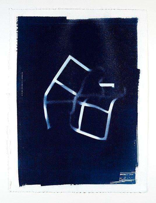 Cyanotypes : Anne Jordan