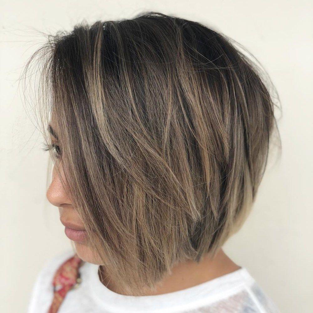 16++ Ash brown hair short bob trends