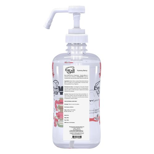 Hand Sanitizer Spray Offering A Plant Based Quick Drying Formula