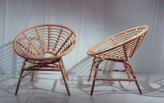 Retro Cane Chair