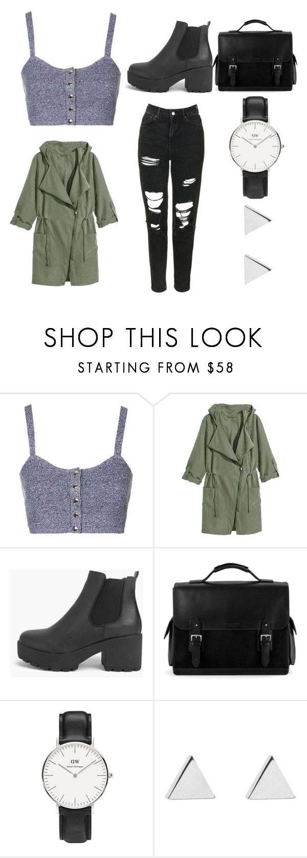 """""""Catch"""" by lisalue00 on Polyvore featuring Mode, Topshop, Boohoo, Aspinal of London, Daniel Wellington und Jennifer Meyer Jewelry"""
