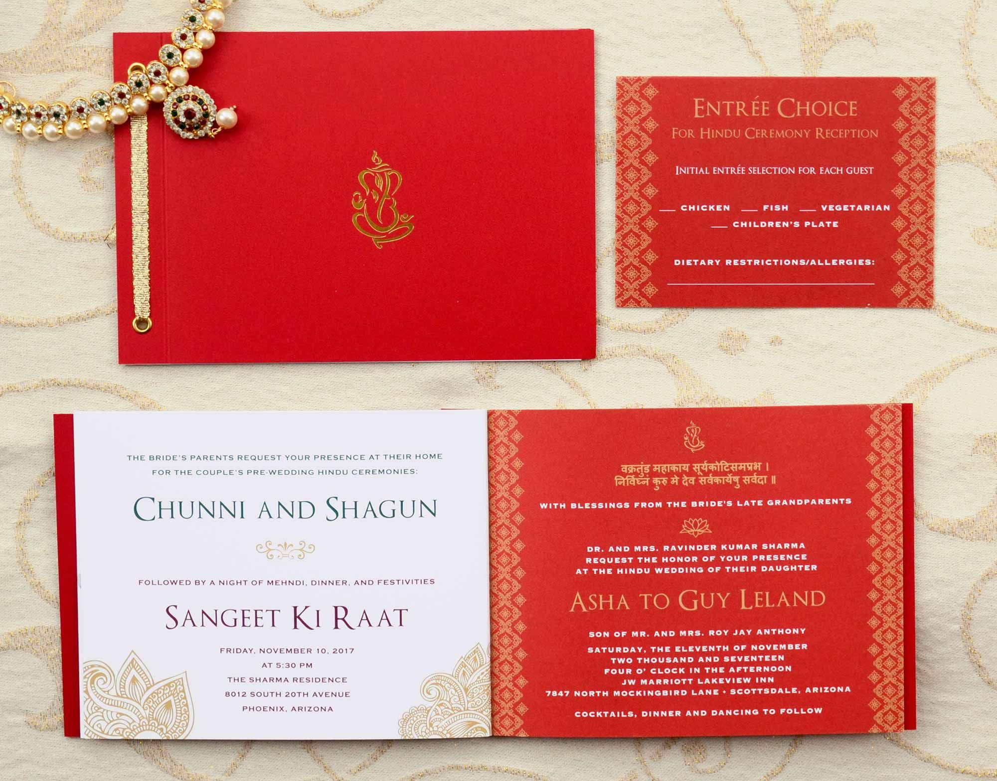 One of a Kind Wedding Invitation Booklet Style Invite | Fusion wedding  invitations, Wedding invitations, Indian wedding invitations