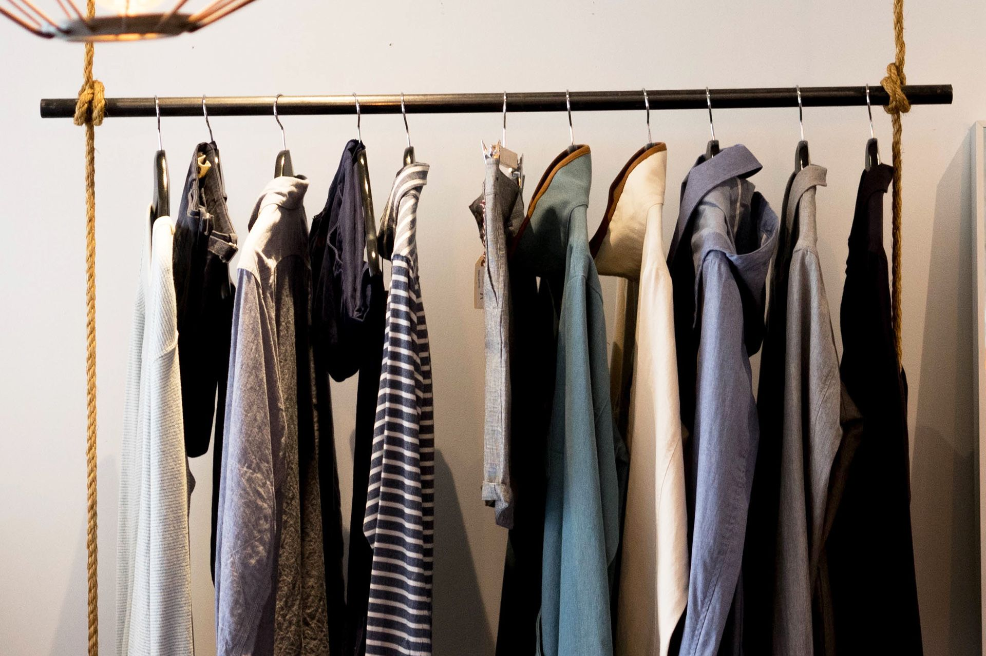 10 Clothes Storage Ideas When You Have No Closet With Images Clothes Storage Without A Closet