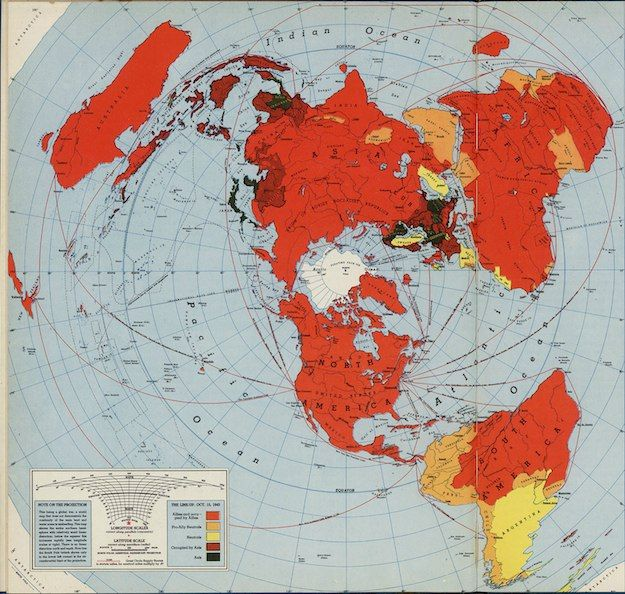 These amazing maps came out of world war iis cartography revolution these amazing maps came out of world war iis cartography revolution vintage world mapsprojection mappingflat gumiabroncs Images