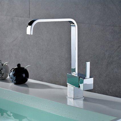 Auralum 2 a os de garant a mezclador grifo monomando con - Grifo lavabo cascada ...