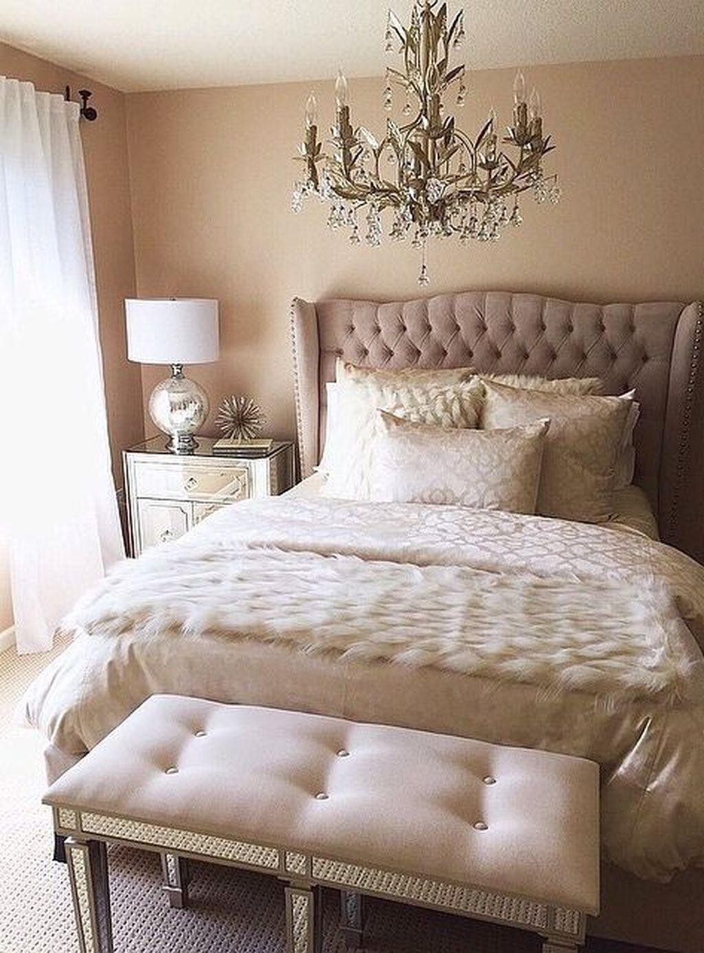 48 Gorgeous Romantic Master Bedroom Ideas Elegant Bedroom Decor