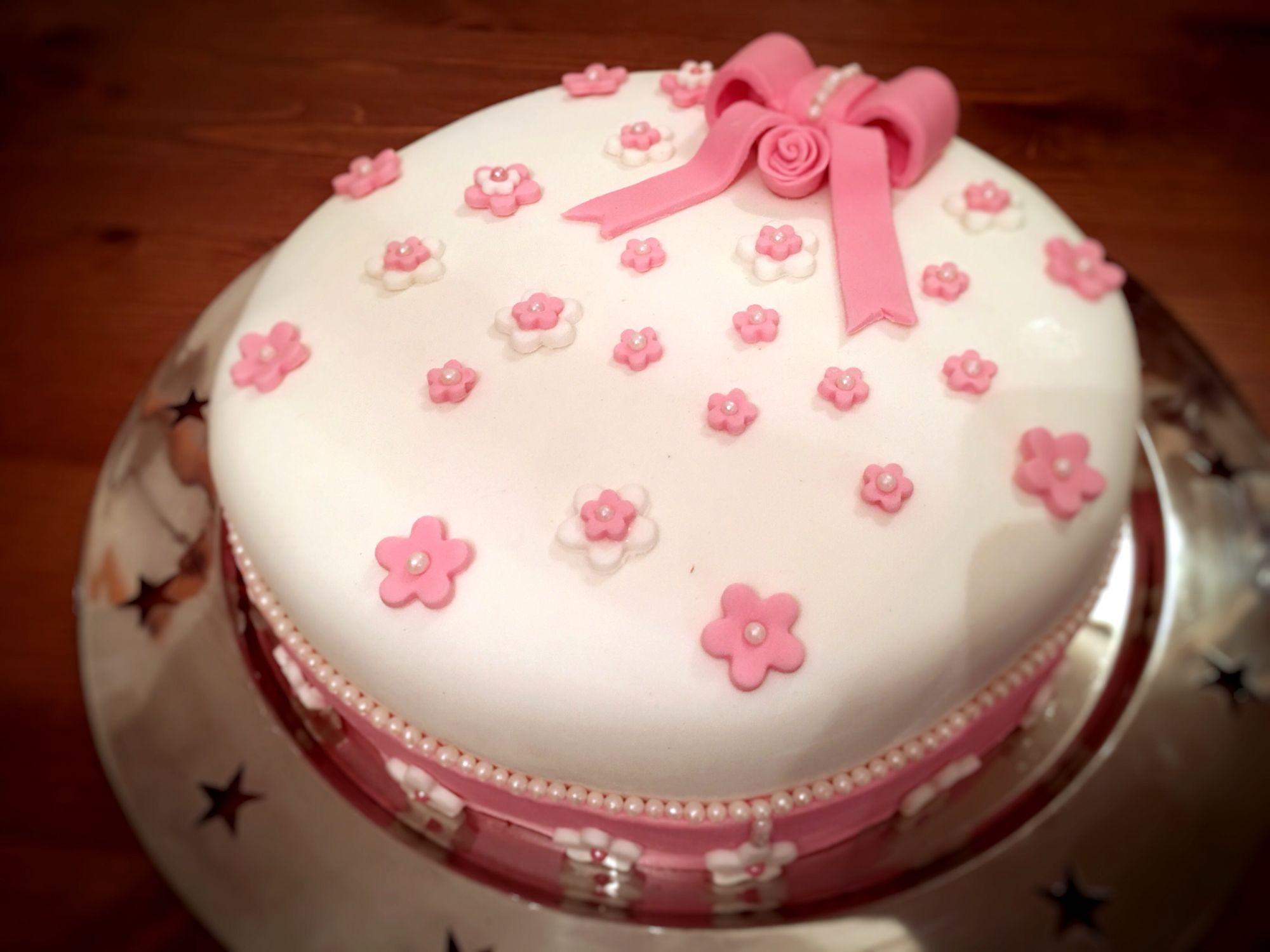 Torte Kuchen Fondant