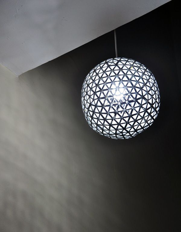 Stylishe Lampen Aus Tetra Paks Beleuchtung Pinterest Lampen