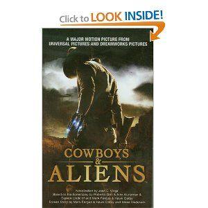 Cowboys & Aliens by Joan D. Vinge ... MUCH better book than movie (sorry Daniel Craig)