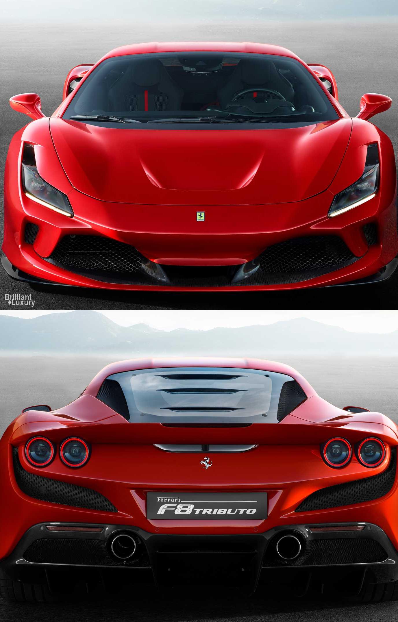 Brilliant LuxuryFerrari F8 Tributo 2020 in 2020 Ferrari