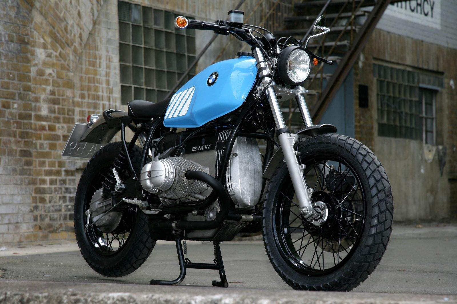 laid back mcqueen custom bmw r80 scrambler by urban. Black Bedroom Furniture Sets. Home Design Ideas