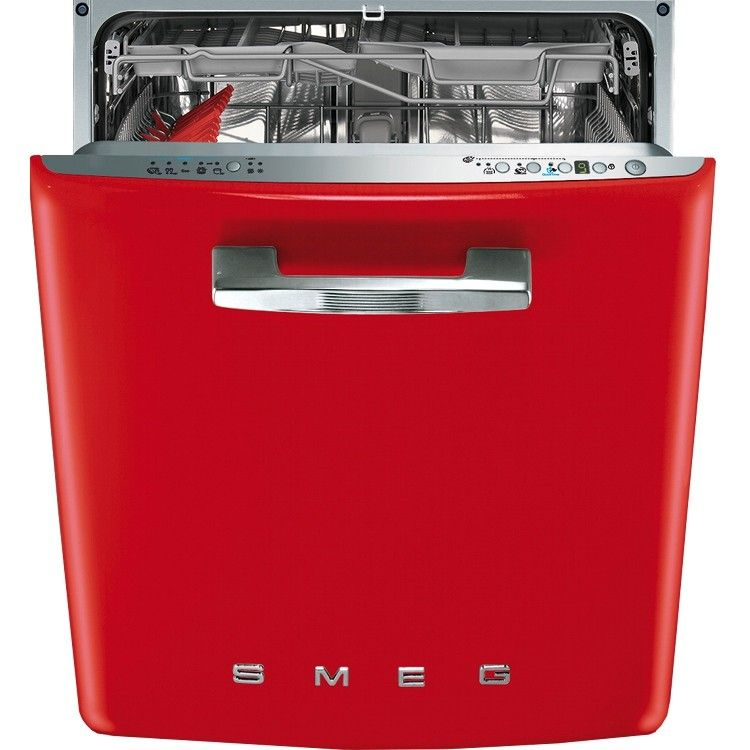 Smeg DI6FABR2 50's Retro Style Fully Integrated Dishwasher