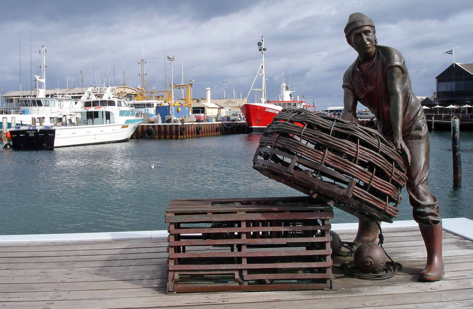 Fremantle Fishing Boat Harbour, Western Australia (With