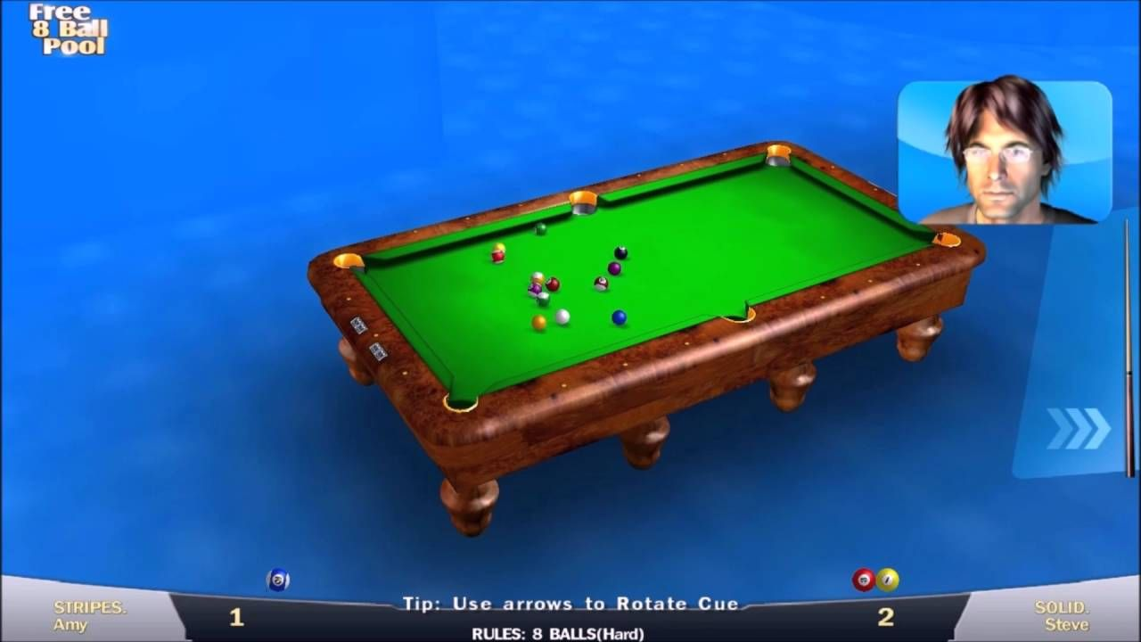 8 Ball Pool Gameplay -- Trick To Win With One Shot /Part 1 ...