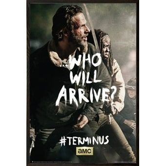 The Walking Dead Terminus Rick Michonne Poster With Choice Of