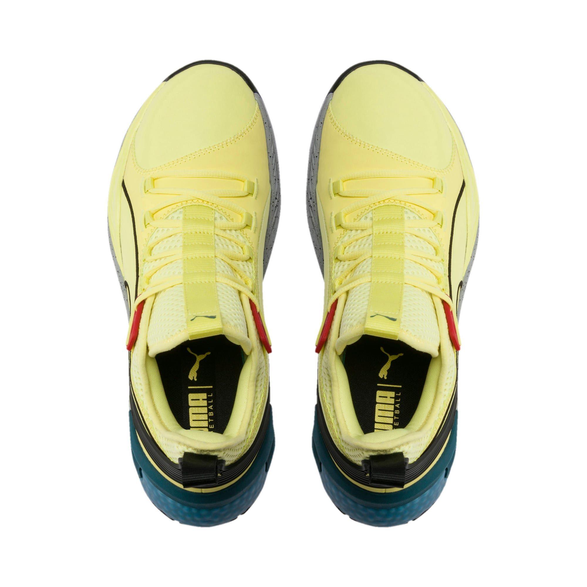 basket jaune puma
