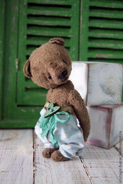 Мишки Тедди ручной работы. Ярмарка Мастеров - ручная работа Трошка. Handmade.