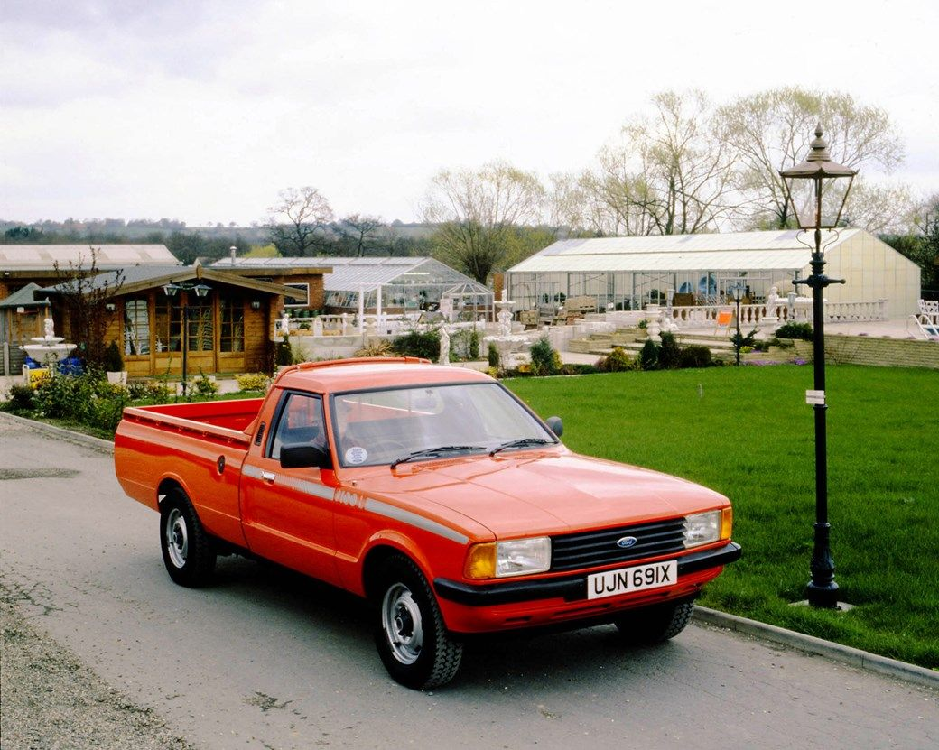 Ford P100 Ford Cortina Based Pickup Commercial Vehicle Ford