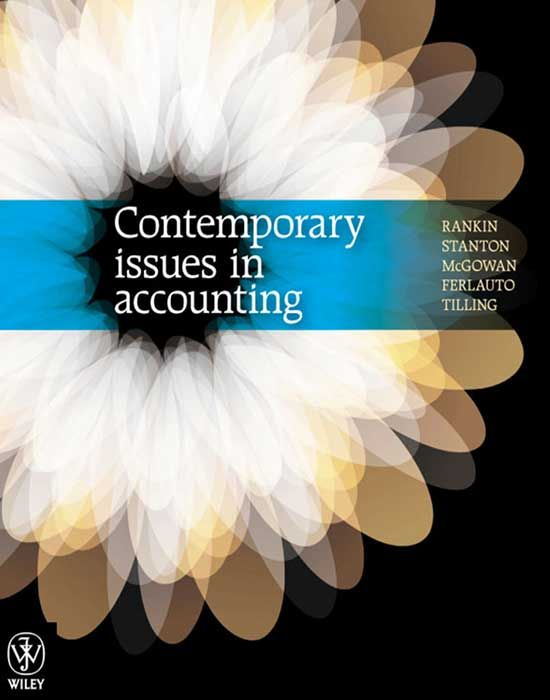 Contemporary issues in accounting 2nd edition 2nd edition ...