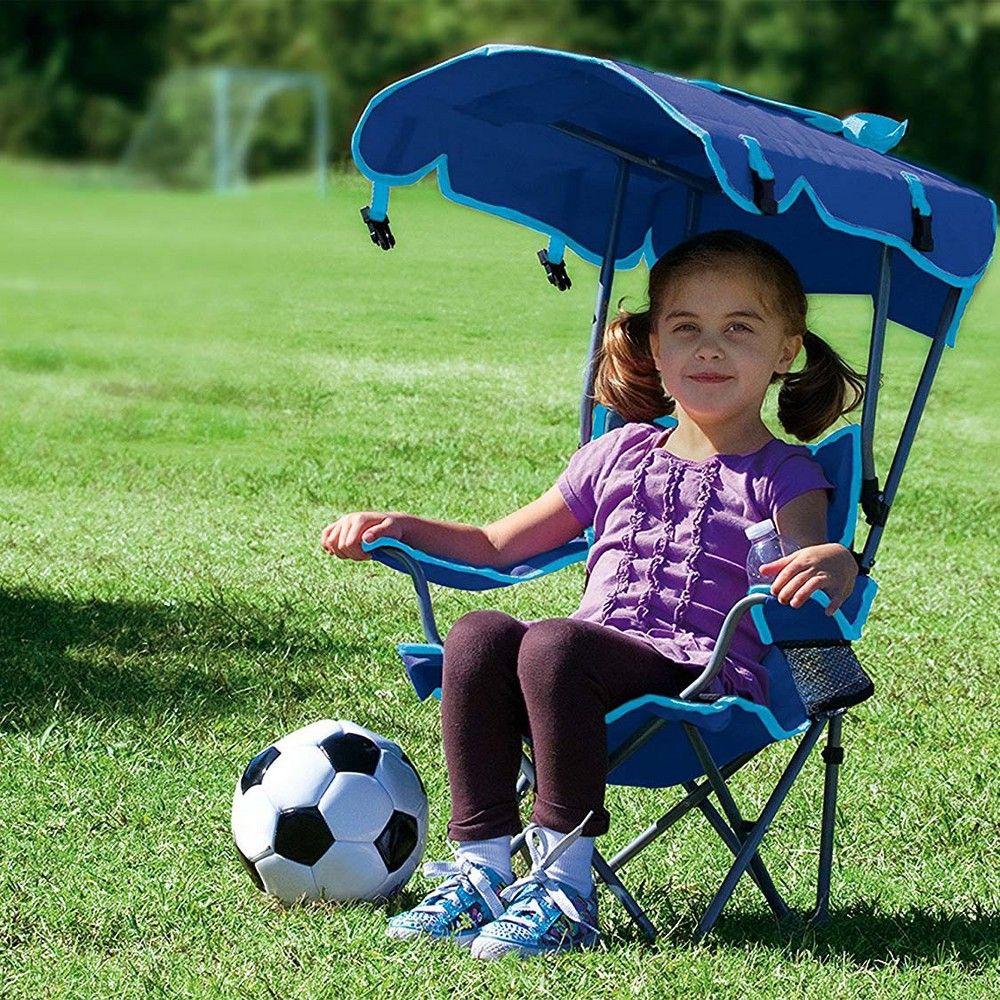 Kelsyus Kids Original Canopy Folding Backpack Lounge Chair 2 Pack