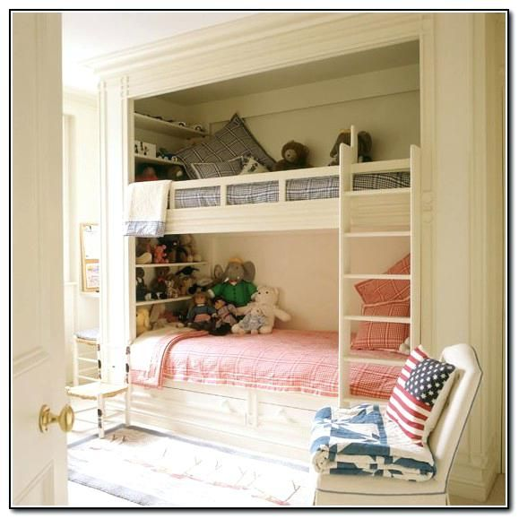 Image Result For Small Room With Built In Bunk Beds Design Vision