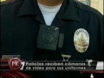 Policías Reciben Cámaras De Video Para Sus Uniformes #Video